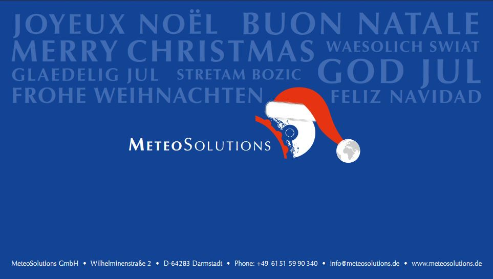 MeteoSolutions auf der MTWE 2018 in Amsterdam